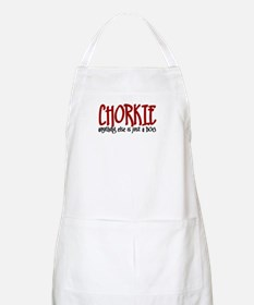 Chorkie JUST A DOG BBQ Apron