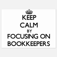 Keep Calm by focusing on Bookkeepers Invitations