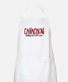 Cavachon JUST A DOG BBQ Apron