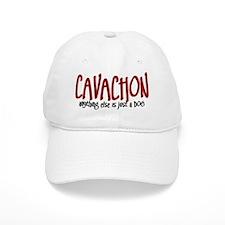 Cavachon JUST A DOG Baseball Cap