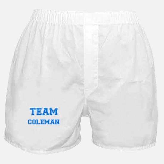 TEAM COLEMAN Boxer Shorts
