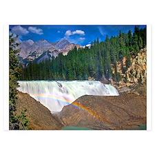 Wapta Falls and Rainbow Invitations