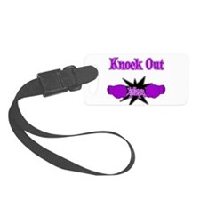 Knock Out Epilepsy purple.png Luggage Tag