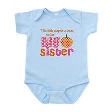 Big Sister Pumpkin Body Suit