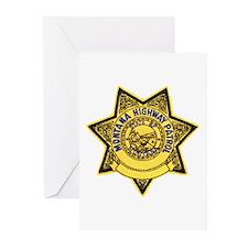 Montana Highway Patrol Greeting Cards (Package of