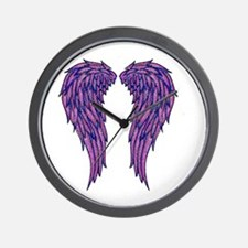 Angel Wings Wall Clock