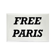 Cute Free paris hilton jail Rectangle Magnet