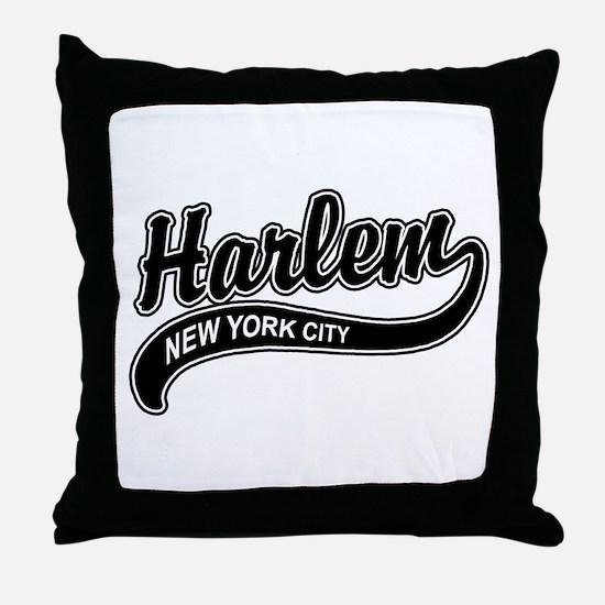 Harlem New York City Throw Pillow