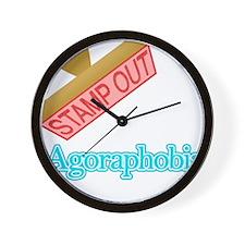 Agoraphobia Wall Clock