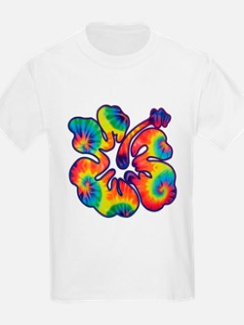 hibiscus tie dye 1 T-Shirt