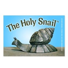 Holy Snail Postcard Pack (8)