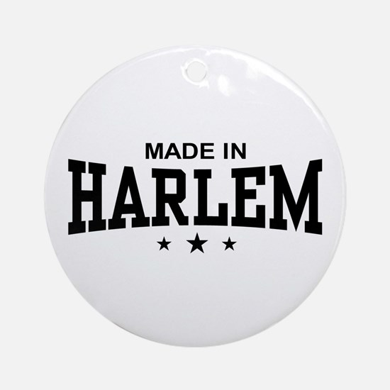 Made In Harlem Ornament (Round)