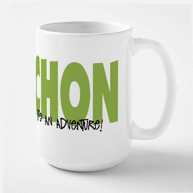 Cavachon ADVENTURE Large Mug