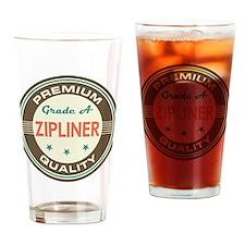 Zipliner Vintage Drinking Glass