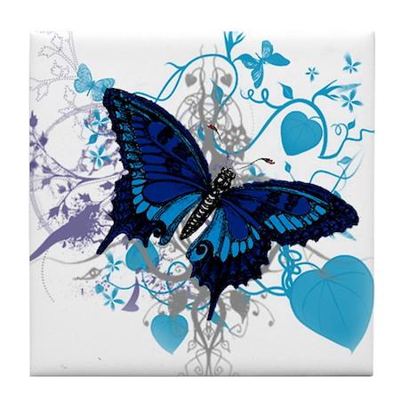 Butterfly Dreams Tile Coaster