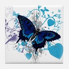 Butterfly Dreams Tile Coaster