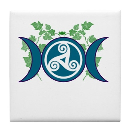 Lunar Goddess Tile Coaster