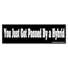 Passed by a Hybrid Bumper Bumper Sticker