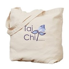 Tai Chi Butterfly 2 Tote Bag