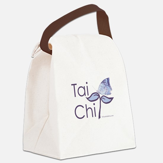 Tai Chi Butterfly 2 Canvas Lunch Bag