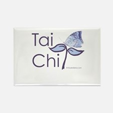 Tai Chi Butterfly 2 Rectangle Magnet