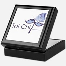 Tai Chi Butterfly Keepsake Box