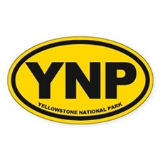 Yellowstone Bumper Stickers