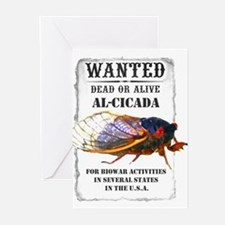 Wanted: Cicada Greeting Cards (Pk of 10)