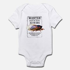 Wanted: Cicada Infant Bodysuit