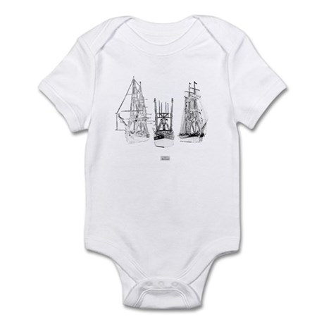 Pirates Through The Ages Infant Bodysuit