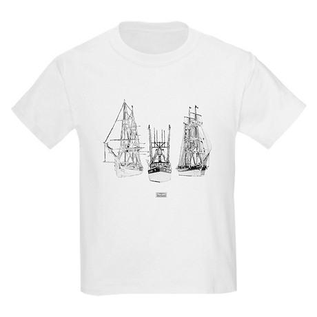 Pirates Through The Ages Kids Light T-Shirt