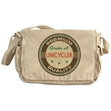 Unicycler Vintage Messenger Bag