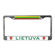 Lietuva License Plate Frame