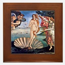 Botticelli Birth of Venus Framed Tile