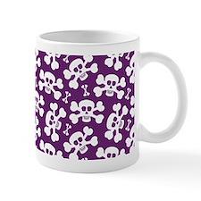 Halloween Skull Pattern Mug
