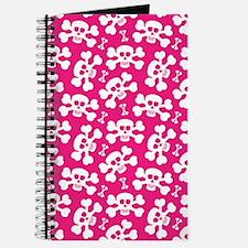 Halloween Skull Pattern Journal