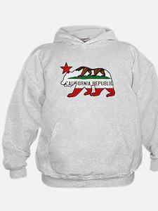 California Bear Flag (vintage distressed look) Hoo