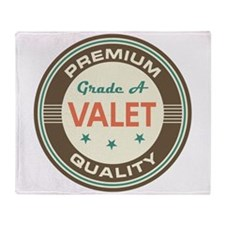 Valet Vintage Throw Blanket