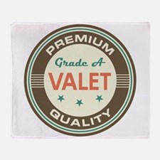 Valet Vintage Throw Blanket