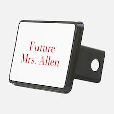 Future Mrs Allen-bod red Hitch Cover