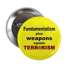 Fundamental Terror Button (10 pk)