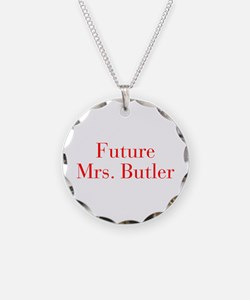 Future Mrs Butler-bod red Necklace