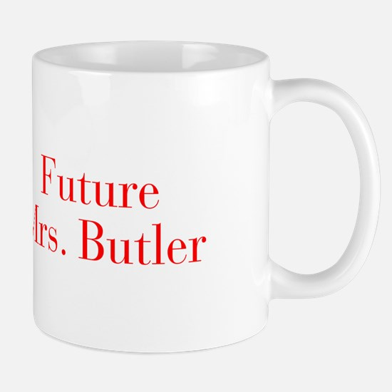 Future Mrs Butler-bod red Mugs