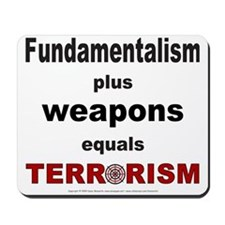 Fundamental Terror Mousepad