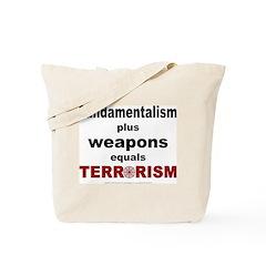 Fundamental Terror Tote Bag