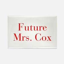 Future Mrs Cox-bod red Magnets