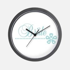 Bride Elegance Wall Clock