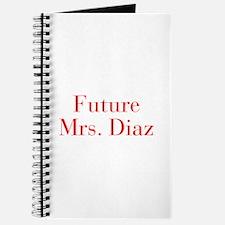 Future Mrs Diaz-bod red Journal