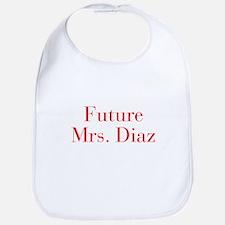 Future Mrs Diaz-bod red Bib