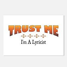 Trust Lyricist Postcards (Package of 8)